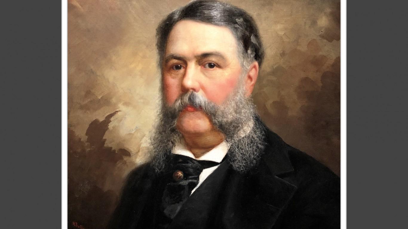 #21 Chester A. Arthur 1881-188... by aiva.