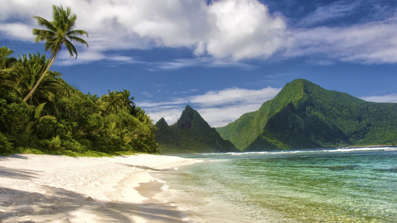 Si'u Point Trail, Ta'u Island,... by U.S. Department of the Interior