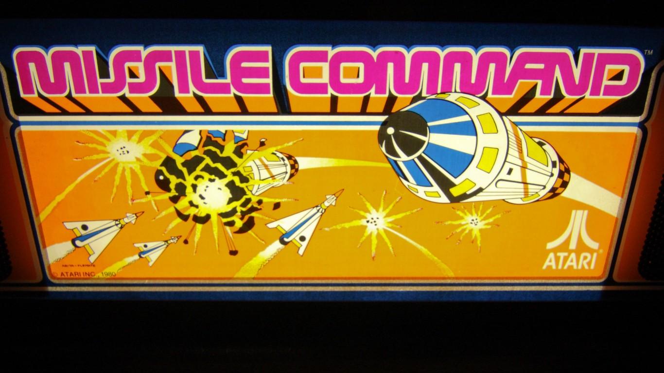 Missile Command Sign by Steven Miller
