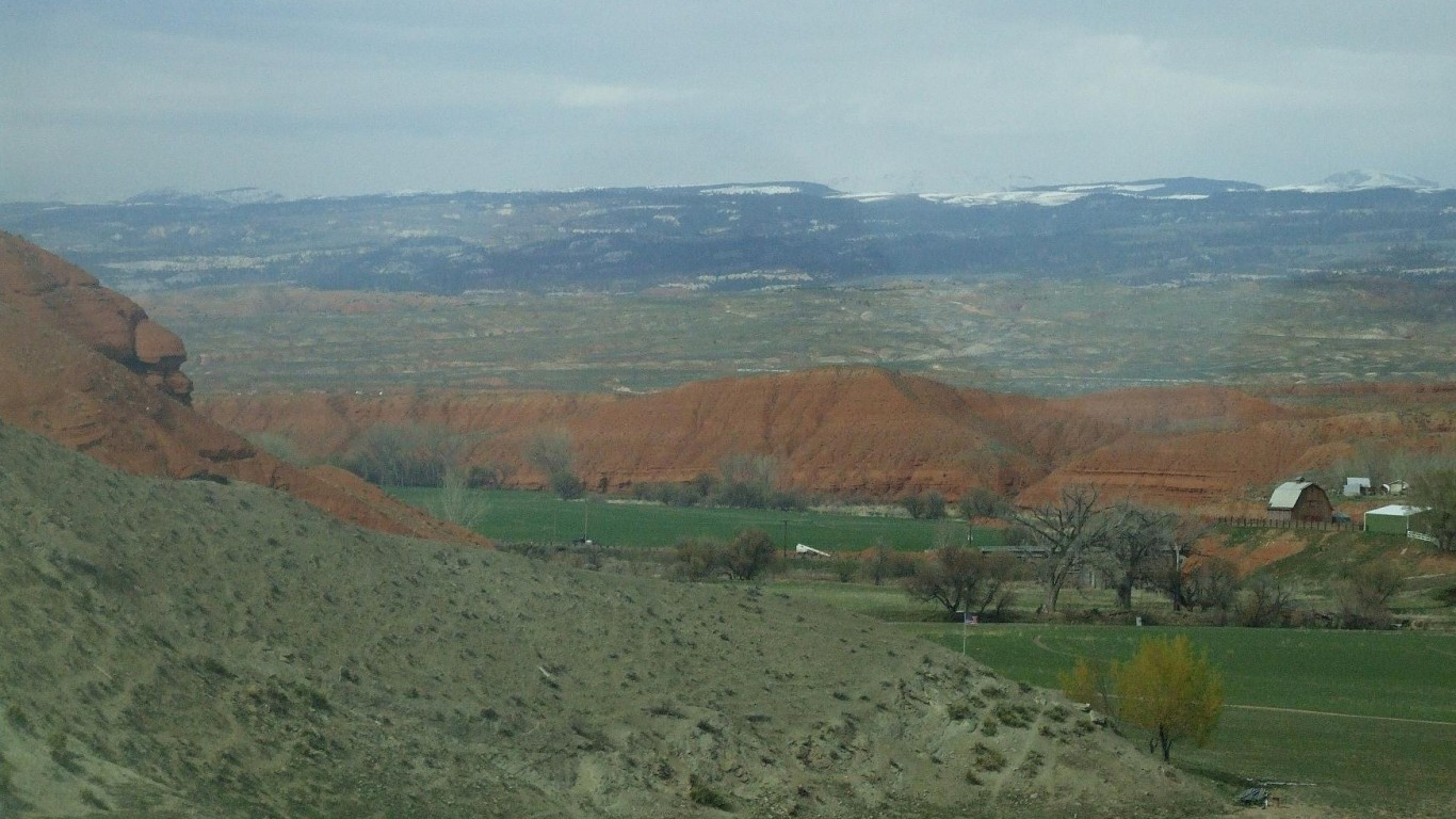 Washakie County, Wyoming by Robert Cutts