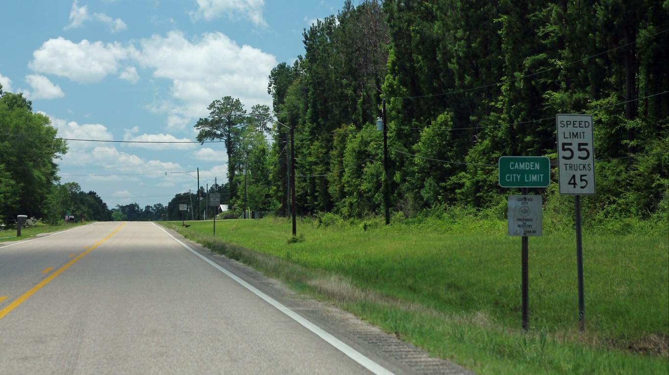 AL41 South - Camden City Limit by formulanone