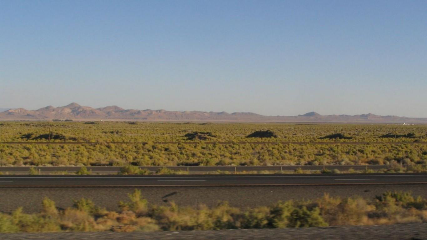 Great Basin Sunset, Interstate... by Ken Lund