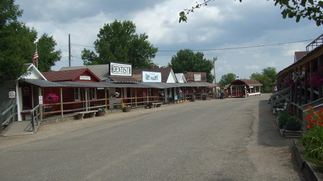 Frontier Village, Jamestown, N... by Haydn Blackey