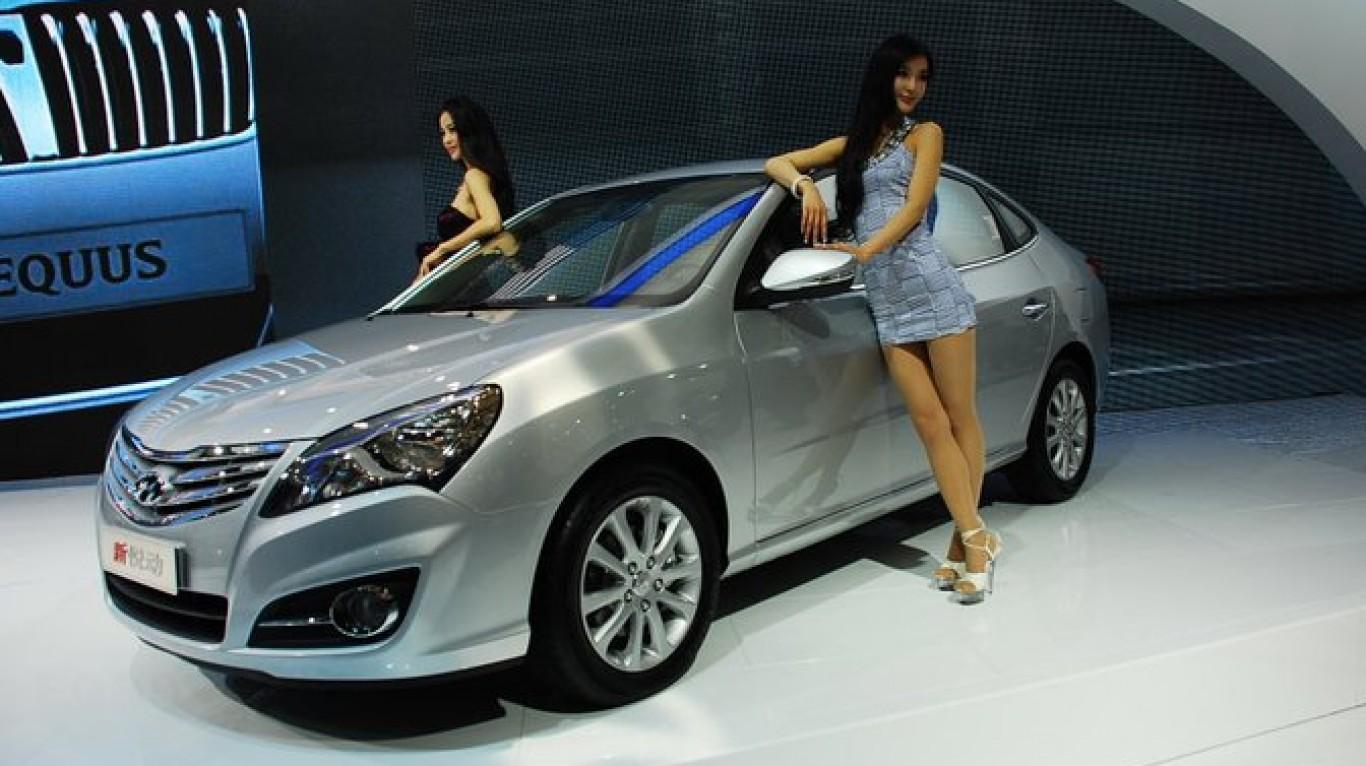 Hyundai Elantra HD (China) by loubeat