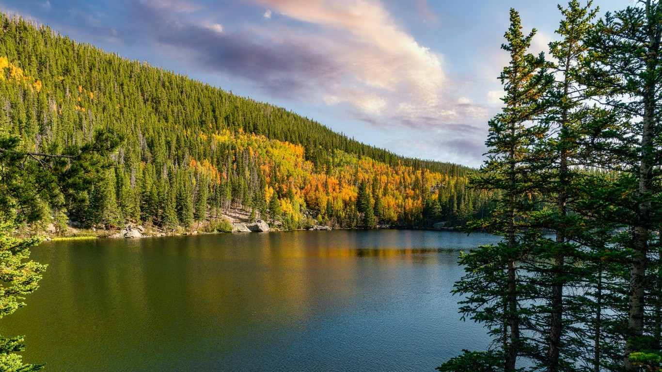 Bear Lake - Rocky Mountain Nat... by G Yancy