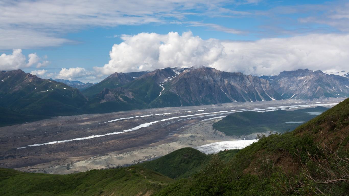 Kennicott Glacier, Wrangell-St... by Christoph Strässler