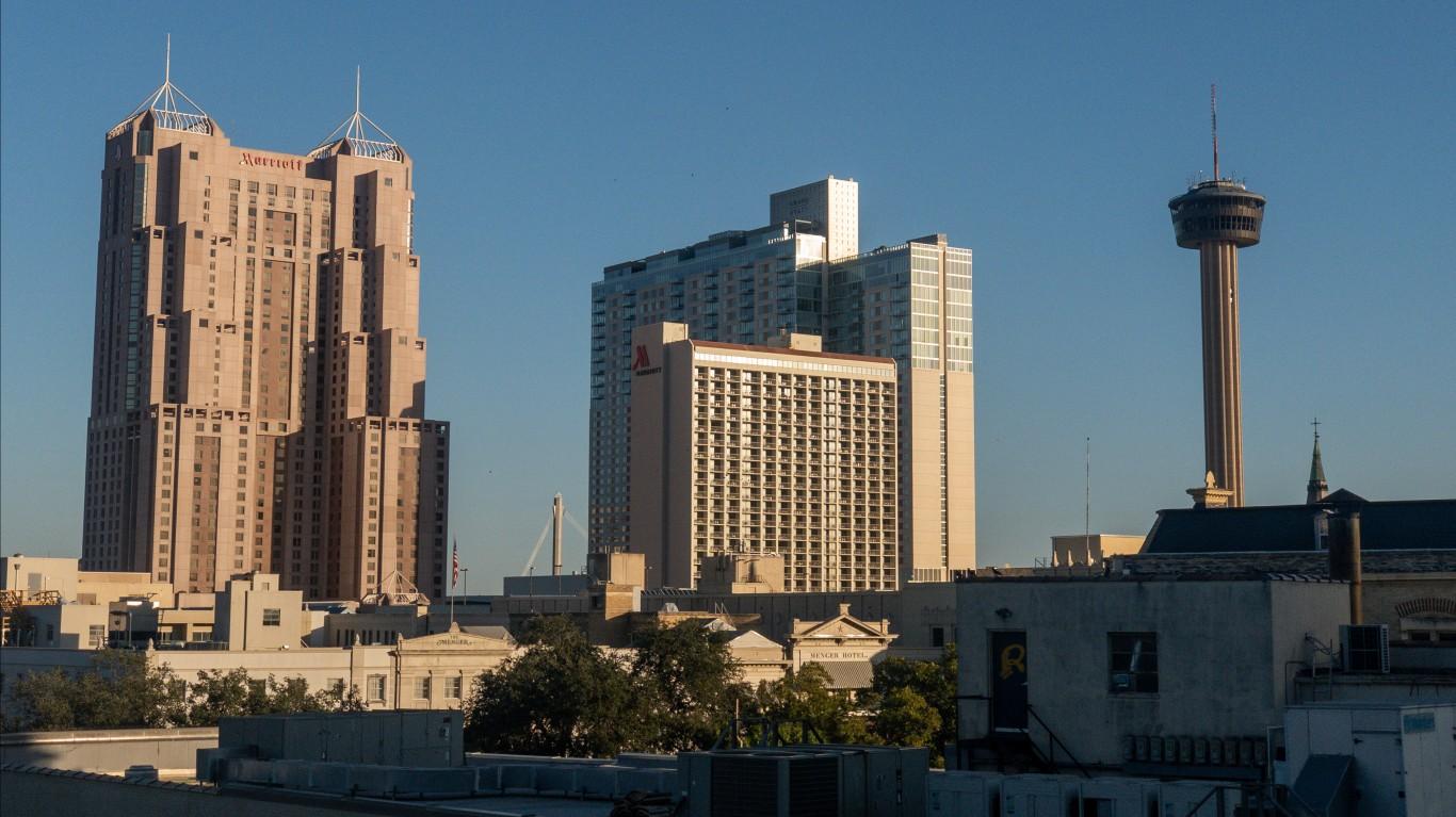 Downtown San Antonio by Jonathan Cutrer