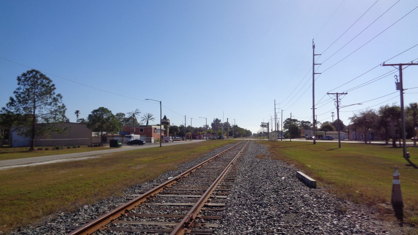 CSX Clearwater Subdivision - Pinellas Park, Florida by Jackdude101