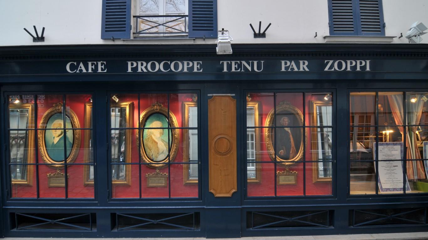 Café Procope by Serge Melki