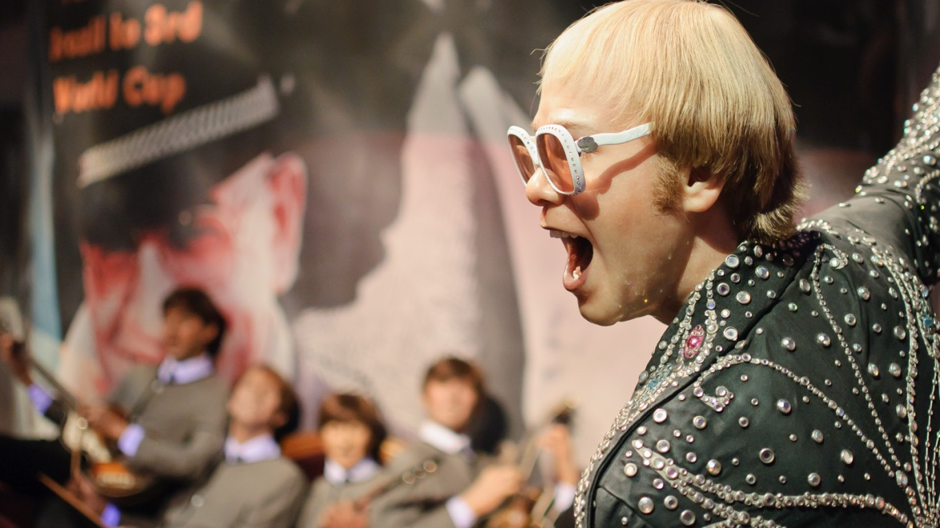 Elton John and the Beatles at ... by InSapphoWeTrust