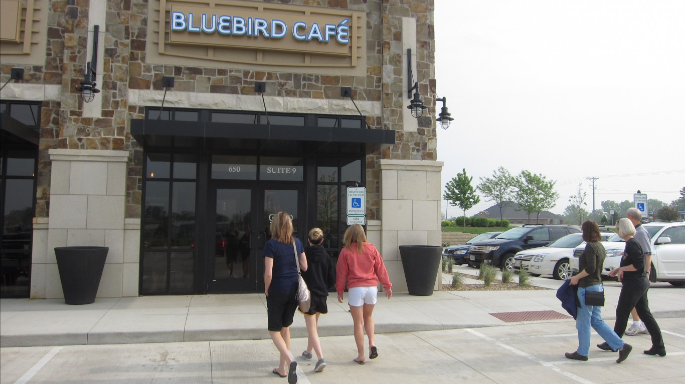 Bluebird Cafe, North Liberty, ... by Alan Light