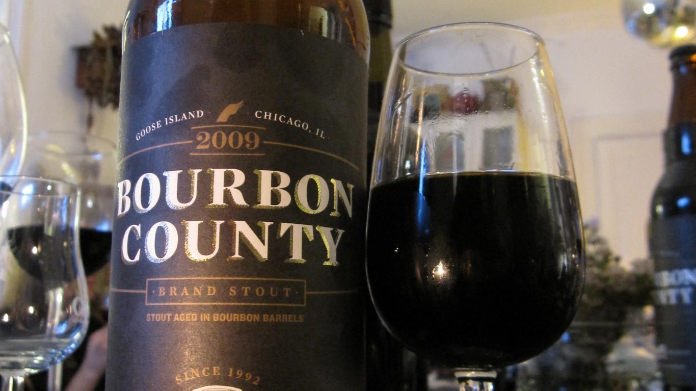 Goose Island Bourbon County St... by Bernt Rostad