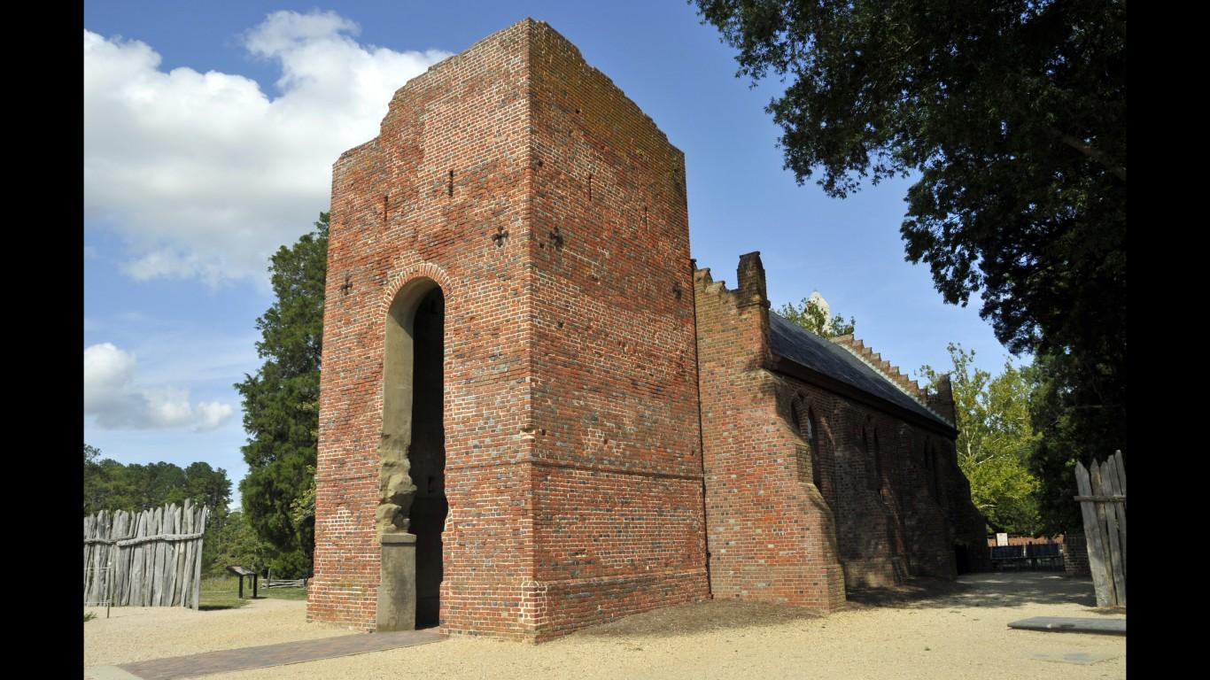 1639 Jamestown Church (2883847... by Tony Fischer