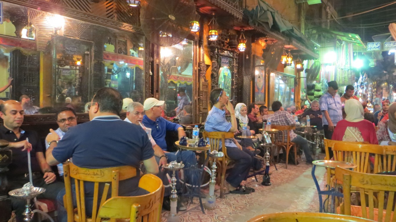 Scenery at El Fishawy café by Christoph Derndorfer