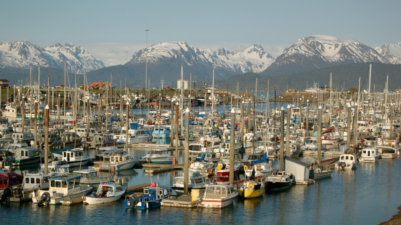 Homer Harbor by Brian