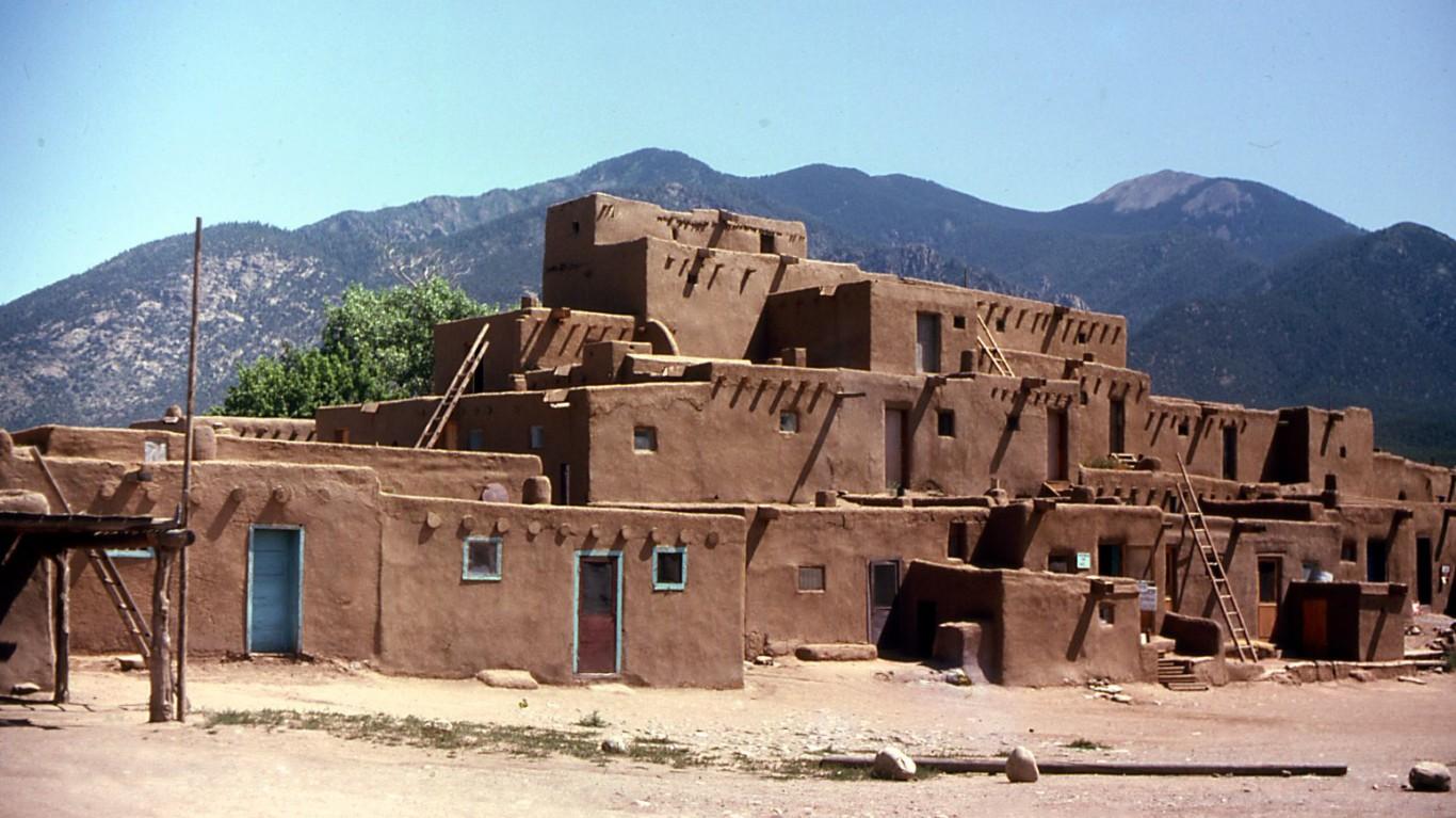 Taos Pueblo by John W. Schulze