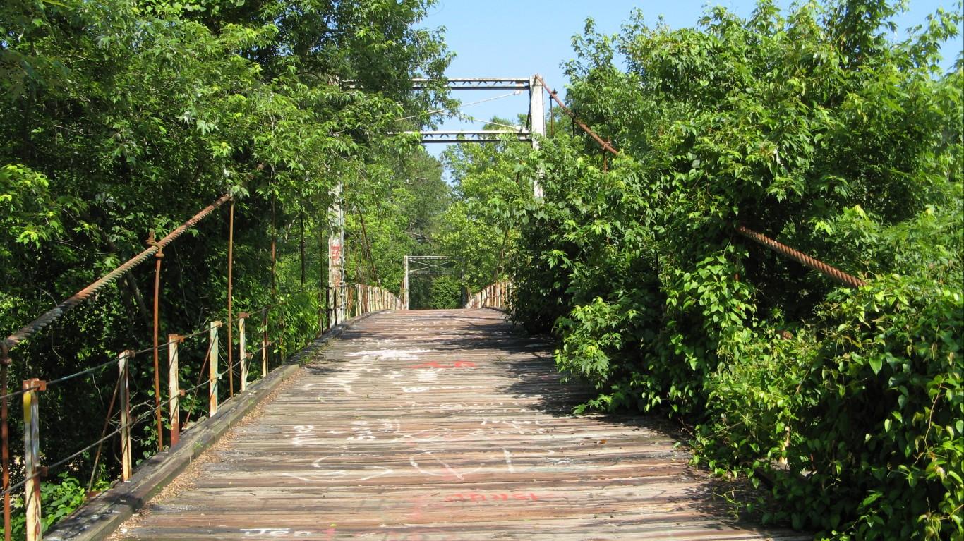 Swinging Bridge by NatalieMaynor