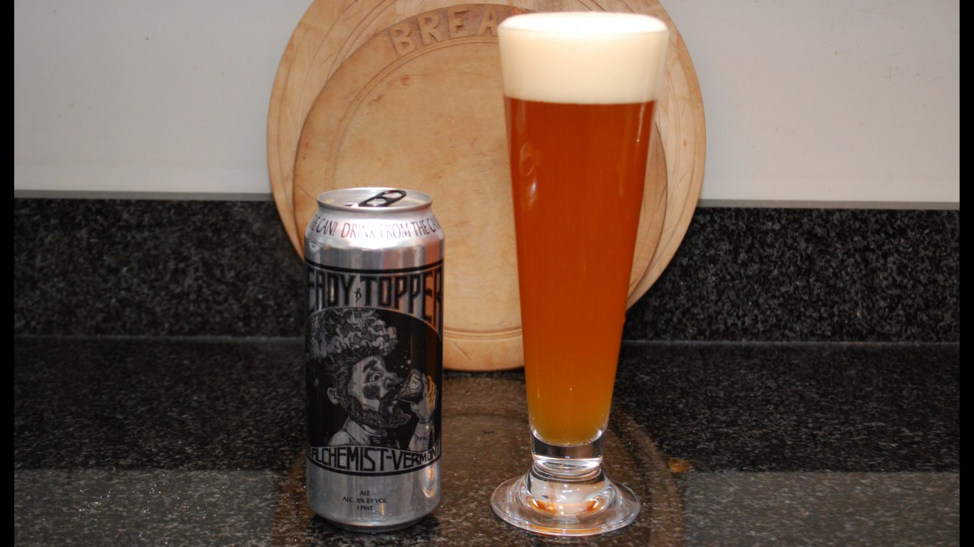 Heady Topper Beer by Carter Brown