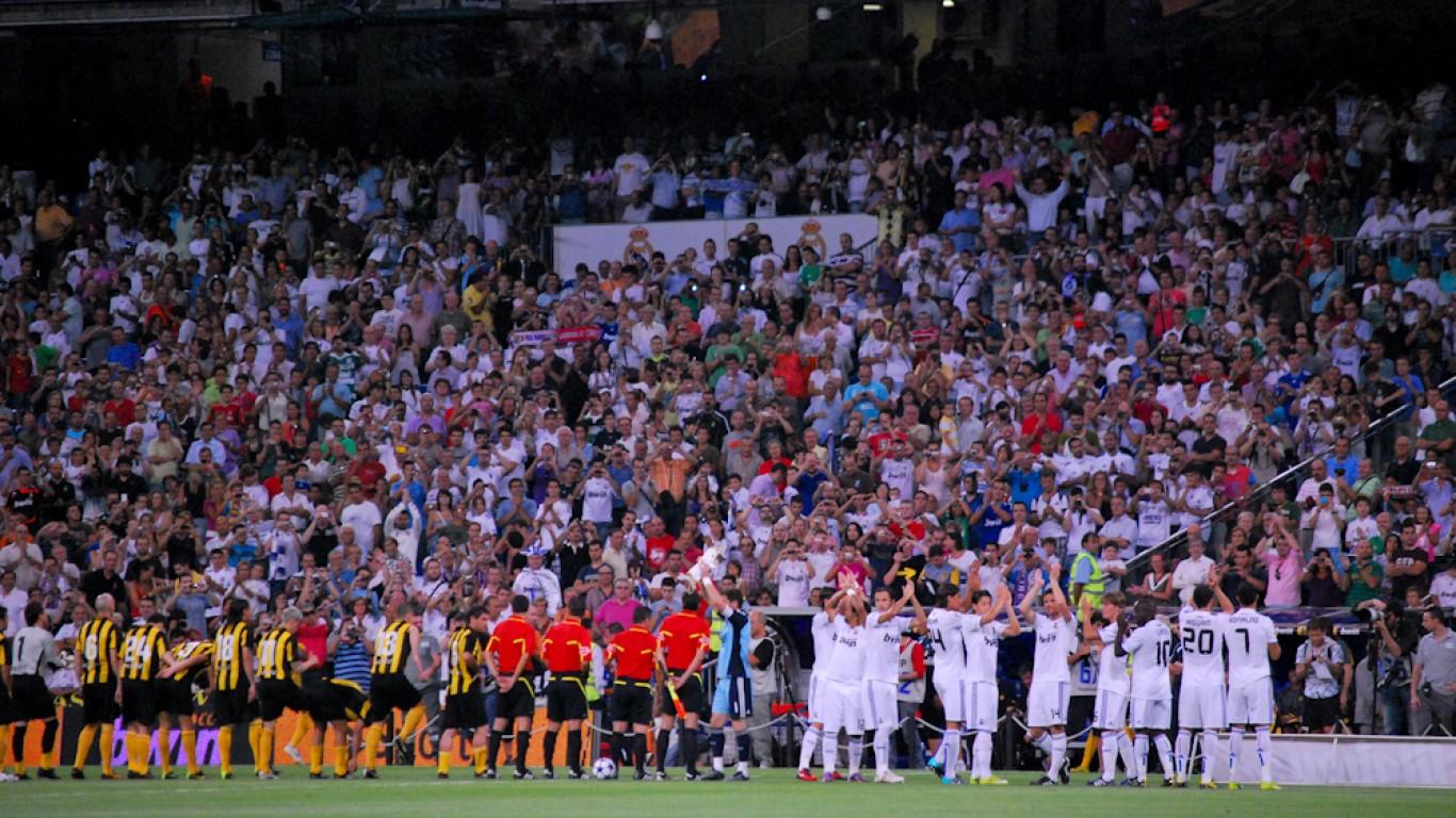 Real Madrid - Peñarol by Jan S0L0