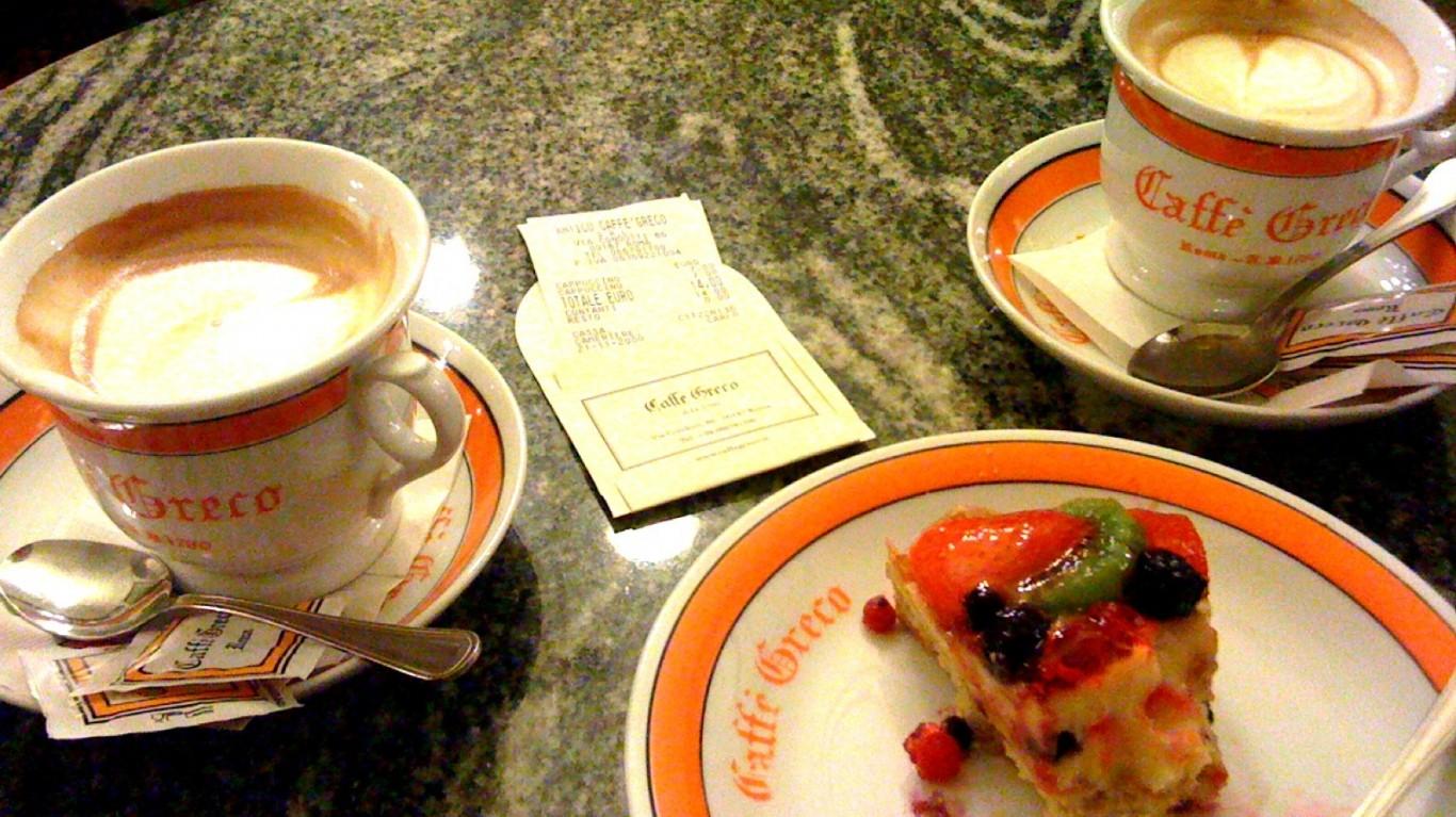 Coffee Caffè Greco style by Jamie Hamilton