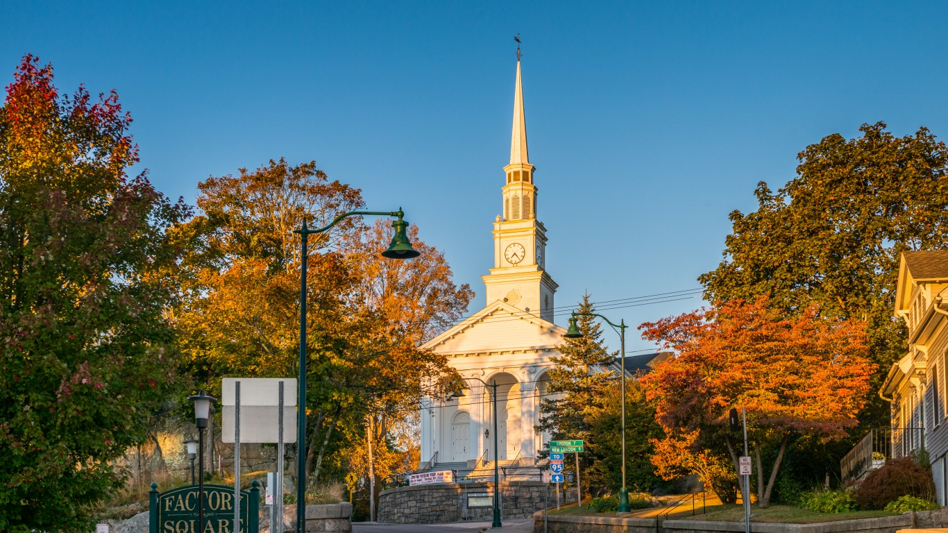Mystic, Connecticut by R Boed