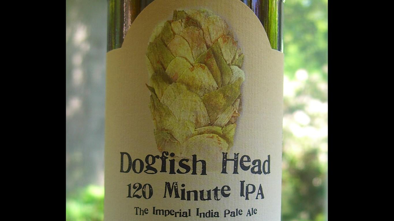 Dogfish Head 120 Minute IPA by walknboston