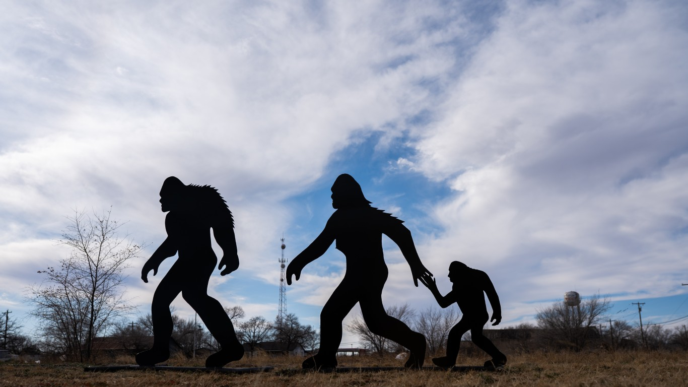 Sasquatch family spotted in Ne... by Jonathan Cutrer