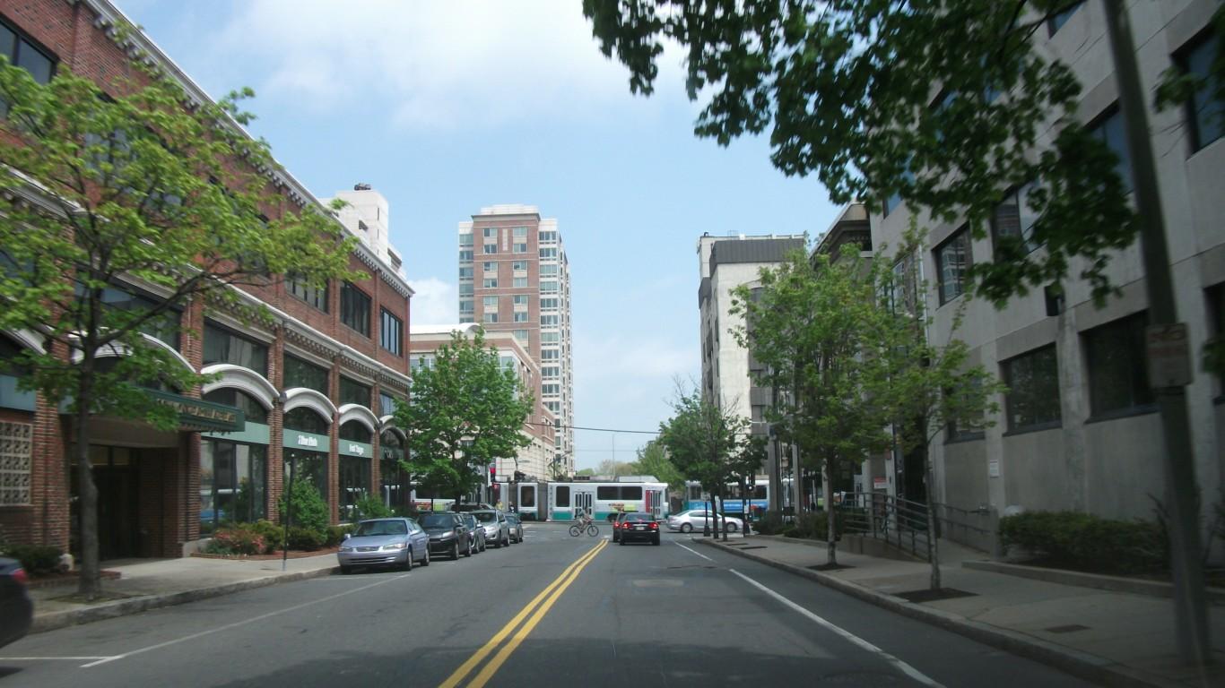 Brookline, Massachusetts by Doug Kerr