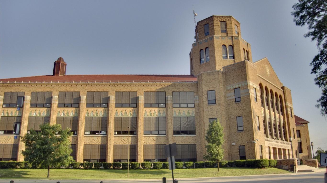 Maine East High School by BWChicago