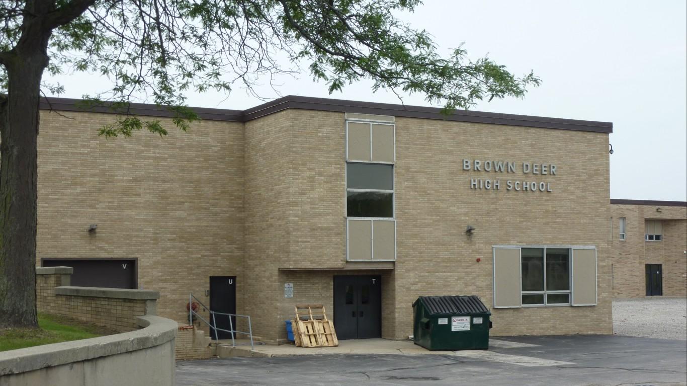 Brown Deer High School by FOX6 Milwaukee