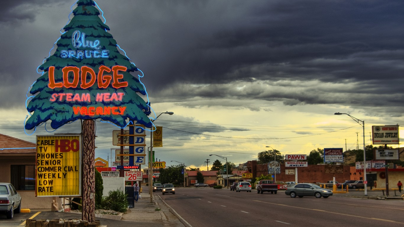 Gallup New Mexico by Wolfgang Staudt