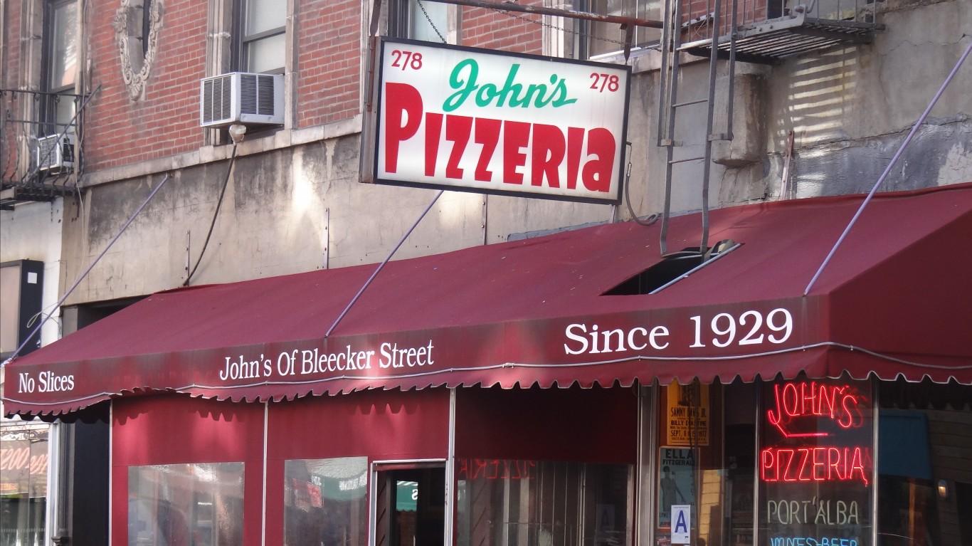 John's of Bleecker Street by Shannon McGee
