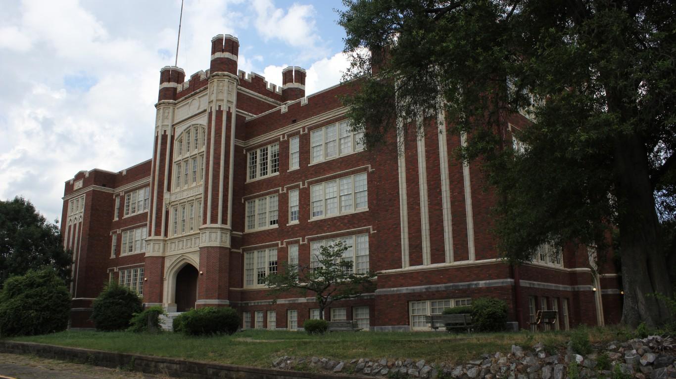 Old Hot Springs High School by Nicolas Henderson