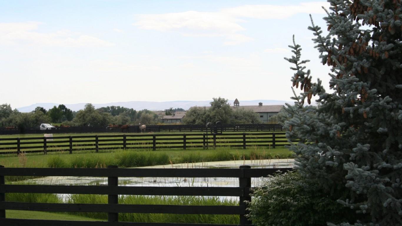 Treetop Farms, Wilder, Idaho by Ken Lund