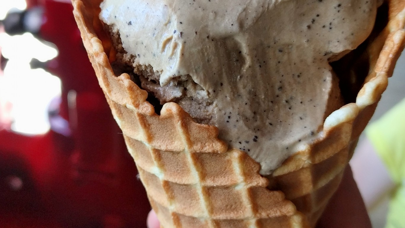 Turkish coffee ice cream from ... by Ruth Hartnup