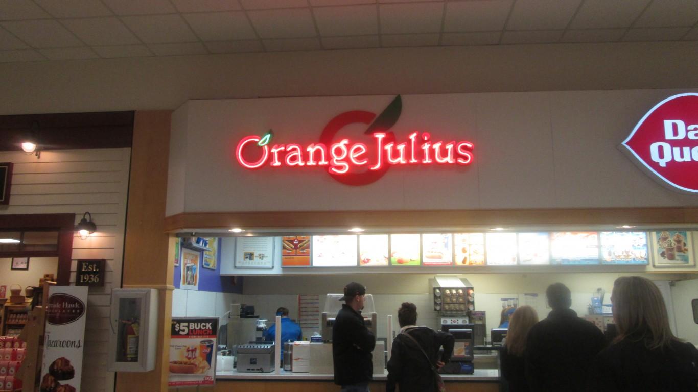 Orange Julius by Random Retail