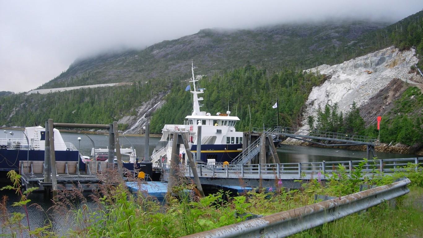 Metlakatla, Alaska by Mark Brennan