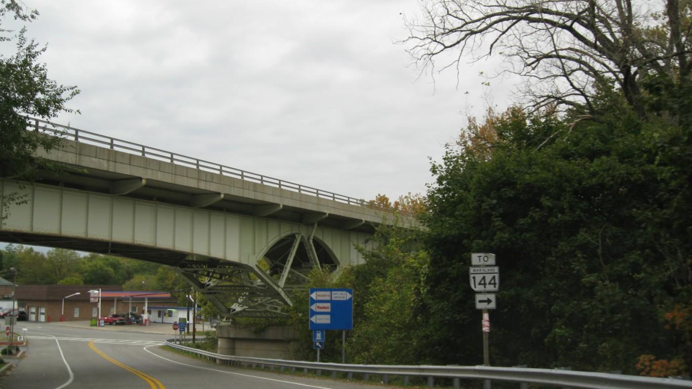 Hancock, Maryland by Doug Kerr