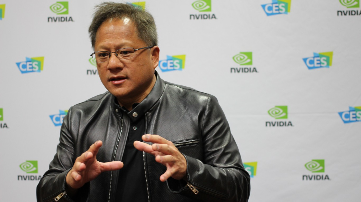 Nvidia CEO Jensen Huang by Maurizio Pesce